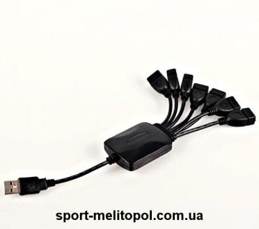 Переходник Это 7 портовый USB-концентратор, который является идеальным компань. Мелитополь, Запорожская область. фото 7