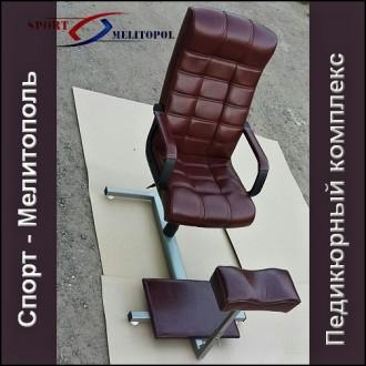 Кресло педикюрное Имея красивою рабочее место клиенты сами к вам потянуться, н. Мелитополь, Запорожская область. фото 2