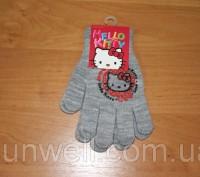 Перчатки для девочек Hello kitty ТМ Sun City, Размер: 15см Состав: 82% acrylic. Київ, Київська область. фото 8