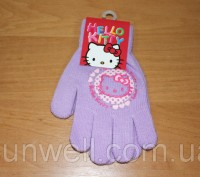 Перчатки для девочек Hello kitty ТМ Sun City, Размер: 15см Состав: 82% acrylic. Киев, Киевская область. фото 5
