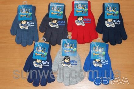 Перчатки для мальчиков Super4 ТМ Sun City, Размер: 16см Состав: 82% acrylic, 1. Київ, Київська область. фото 1