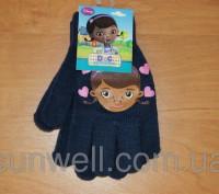 Перчатки для девочек доктор Плюшева Размер: 16см Состав: 82% acrylic, 1% elast. Киев, Киевская область. фото 5