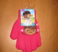 Перчатки для девочек доктор Плюшева Размер: 16см Состав: 82% acrylic, 1% elast. Киев, Киевская область. фото 4