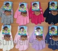 Перчатки для девочек доктор Плюшева Размер: 16см Состав: 82% acrylic, 1% elast. Киев, Киевская область. фото 2