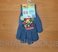 Перчатки для мальчиков ТМ Sun City, с изображением главного героя мультсериала Д. Киев, Киевская область. фото 3