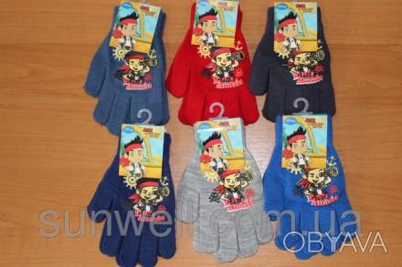 Перчатки для мальчиков ТМ Sun City, с изображением главного героя мультсериала Д. Киев, Киевская область. фото 1