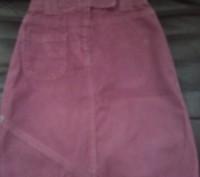 Фирменная вельветовая юбка. Кременчуг. фото 1