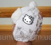 Детская зимняя шапка  Hello Kitty Состав: верх ― плащевая ткань, подкладка  ― . Киев, Киевская область. фото 5
