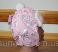 Детская зимняя шапка  Hello Kitty Состав: верх ― плащевая ткань, подкладка  ― . Киев, Киевская область. фото 3