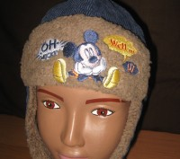 Детская шапка для мальчиков Sun City Mickey Mouse (лицензия Дисней)  Размеры: 4. Киев, Киевская область. фото 2