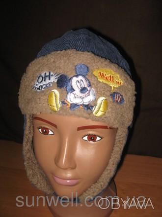 Детская шапка для мальчиков Sun City Mickey Mouse (лицензия Дисней)  Размеры: 4. Киев, Киевская область. фото 1