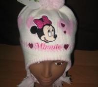 Детская зимняя шапка  ТМ Sun City Hello Kitty (лицензия Disney) Размеры: 48, 50. Киев, Киевская область. фото 5