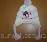 Детская зимняя шапка  ТМ Sun City Hello Kitty (лицензия Disney) Размеры: 48, 50. Киев, Киевская область. фото 6