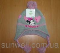 Детская зимняя шапка  ТМ Sun City Hello Kitty (лицензия Disney) Размеры: 48, 50. Киев, Киевская область. фото 3