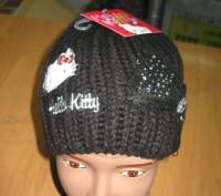 Детская демисезонная шапка для девочек Sun City Hello Kitty  Размеры: 52, 54  . Київ, Київська область. фото 6
