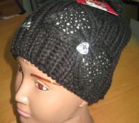 Детская демисезонная шапка для девочек Sun City Hello Kitty  Размеры: 52, 54  . Київ, Київська область. фото 5