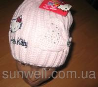 Детская демисезонная шапка для девочек Sun City р.52, 54. Киев. фото 1