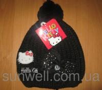 Детская демисезонная шапка для девочек Sun City Hello Kitty  Размеры: 52, 54  . Київ, Київська область. фото 7