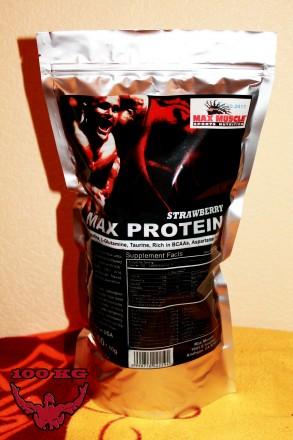 Протеин Max Muscle Max Protein 2kg - 220грн! Шоколад, Ваниль, Клубника!. Миргород. фото 1