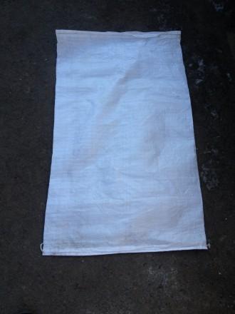 Продаем мешки п/п на 50 кг и 25 кг, б/у. Мешки разово использованные, из под выс. Николаев, Николаевская область. фото 4