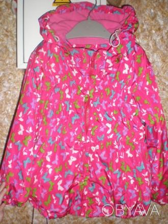 Продам детскую демисезонную курточку для девочки. На максимальный рост 96 см. Не. Киев, Киевская область. фото 1