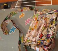 Сумка для девочки , очень многофукцинальная, есть одно основное отделение, 2 доп. Киев, Киевская область. фото 5