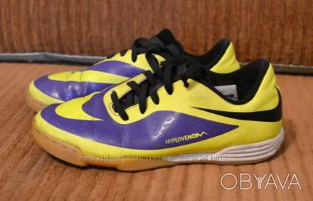 Продам бутсы детские Nike Hypervenom. Состояние хорошее 4 из 5. На носке сбитый . Полтава, Полтавская область. фото 1