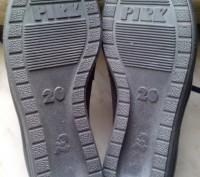 Детские демисезонный туфли, кожа, состояние новое, термостойкая подошва, отличны. Полтава, Полтавская область. фото 3