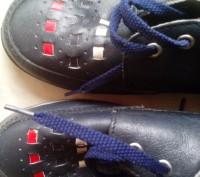 Детские демисезонный туфли, кожа, состояние новое, термостойкая подошва, отличны. Полтава, Полтавская область. фото 6