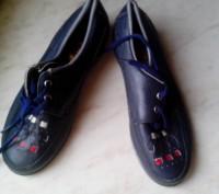 Детские демисезонный туфли, кожа, состояние новое, термостойкая подошва, отличны. Полтава, Полтавская область. фото 2