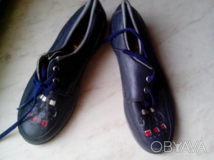 Детские демисезонный туфли, кожа, состояние новое, термостойкая подошва, отличны. Полтава, Полтавская область. фото 1
