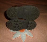 Сапожки английского бренда GEORGE коричневые демисезонные ые с аппликацией на на. Полтава, Полтавская область. фото 6