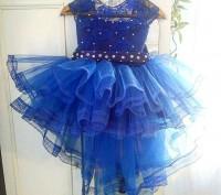 Нарядные платья   Темно синее    Есть любые размеры и разные цвета - на ваш вк. Полтава, Полтавська область. фото 2