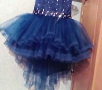Нарядные платья   Темно синее    Есть любые размеры и разные цвета - на ваш вк. Полтава, Полтавська область. фото 3