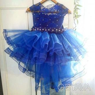 Нарядные платья   Темно синее    Есть любые размеры и разные цвета - на ваш вк. Полтава, Полтавська область. фото 1