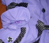Очень стильный, моднявый, пышный,нарядный! Ткань- плащевочная, внутри- небольшо. Полтава, Полтавская область. фото 6