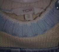 Комплект свитер ТСМ и джинсовый комбинезончик на кнопочках для смены памперса ро. Кременчуг, Полтавская область. фото 4