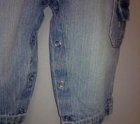 Комплект свитер ТСМ и джинсовый комбинезончик на кнопочках для смены памперса ро. Кременчуг, Полтавская область. фото 6
