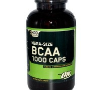Аминокислоты BCAA Optimum Nutrition BCAA 1000 400 капс.. Харьков. фото 1
