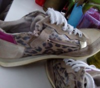 Кроссовки 35 размер, для девочки.Натуральная кожа и замша. Состояние видно на фо. Черкассы, Черкасская область. фото 5