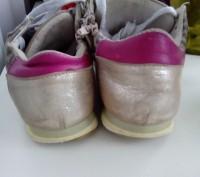 Кроссовки 35 размер, для девочки.Натуральная кожа и замша. Состояние видно на фо. Черкассы, Черкасская область. фото 6