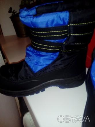 зимние сапожки 30-31 размер, подойдут как для мальчика так и для девочки. состоя. Черкассы, Черкасская область. фото 1