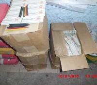 продам  цветные  восковые   карандаши   полицвет  новые  около  1500  пачек    в. Дніпро, Дніпропетровська область. фото 6