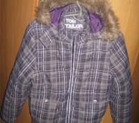 Куртка для девочки на синтепоне Tom Tailor. В хорошем состоянии. Указан размер L. Кременчук, Полтавська область. фото 4