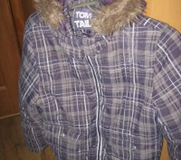 Куртка для девочки на синтепоне Tom Tailor. В хорошем состоянии. Указан размер L. Кременчук, Полтавська область. фото 6