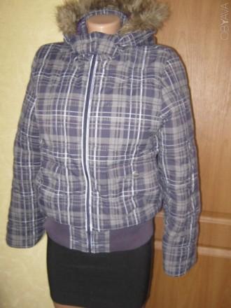 Куртка для девочки на синтепоне Tom Tailor. В хорошем состоянии. Указан размер L. Кременчук, Полтавська область. фото 1