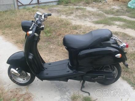 Продам мотороллер Yamaxa Vino SA10J цвет черный в очень хорошем состоянии! центр. Киев, Киевская область. фото 1