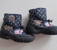 Сапожки Geox р.23 ботинки для девочки. Киев. фото 1