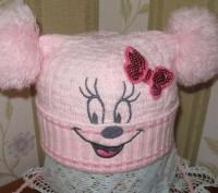 Продам шапку для девочки 4-5 лет весна-осень.. Миргород. фото 1