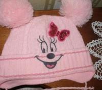 Продам шапку для девочки 4-5 лет весна- осень.В хорошем состоянии.. Миргород, Полтавська область. фото 3
